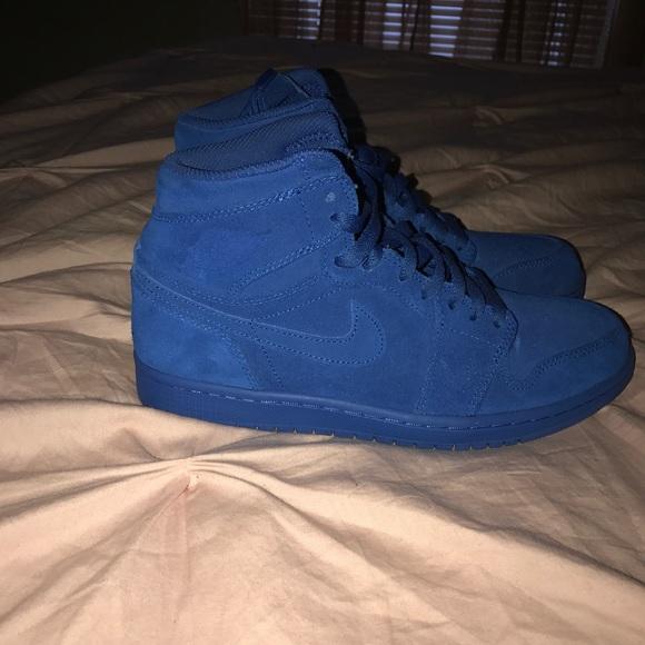 Air Jordan Other - Jordan 1 s Suede Royal Blue Retro Highs (ON ... 5b702557a
